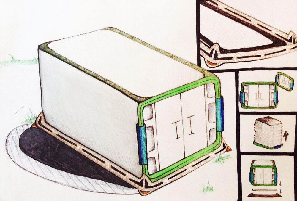 Camping Tent - image 1 - student project