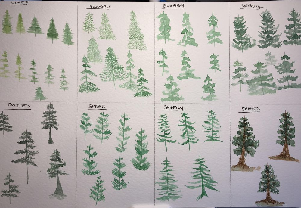 All the trees - image 2 - student project