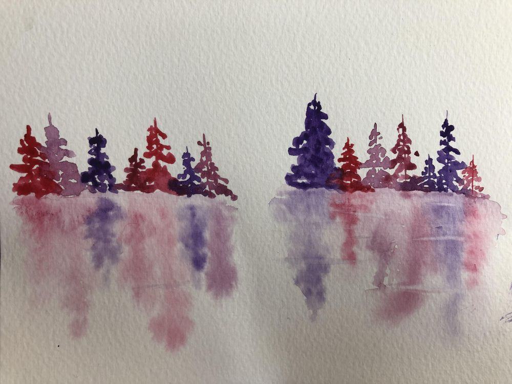 Pretty pinks and purples - image 1 - student project