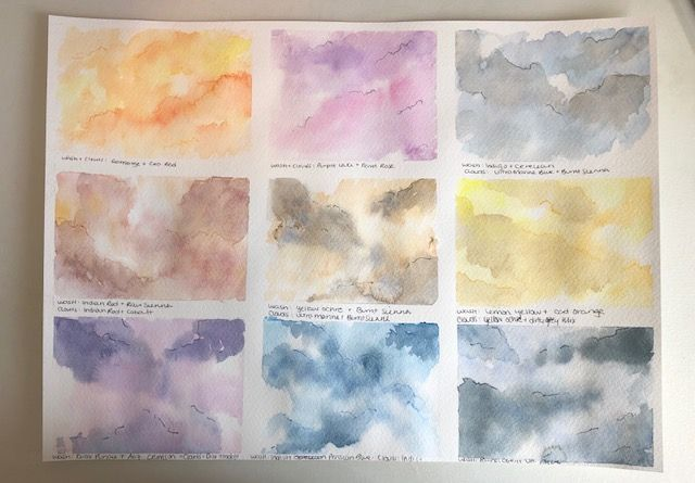 Skies of many colours - image 2 - student project