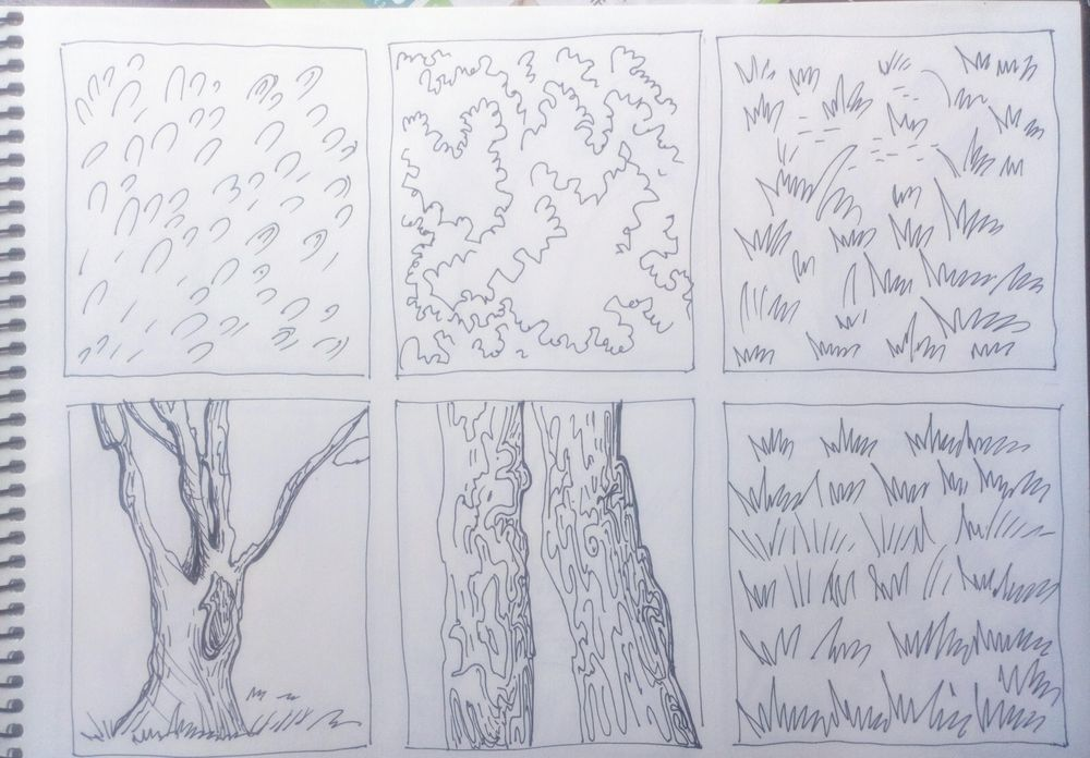 Greenery in Urban Sketching - image 3 - student project