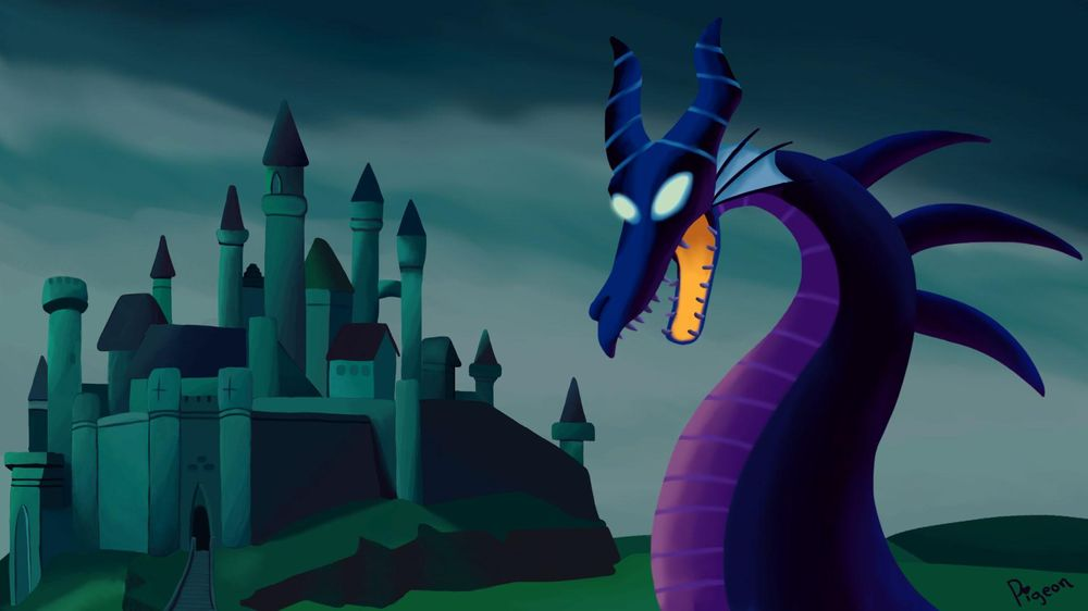 Maleficent & Castle - image 1 - student project