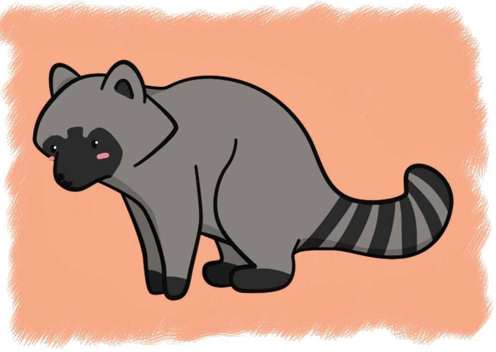 Cute Animal Illustrations :3 - image 1 - student project