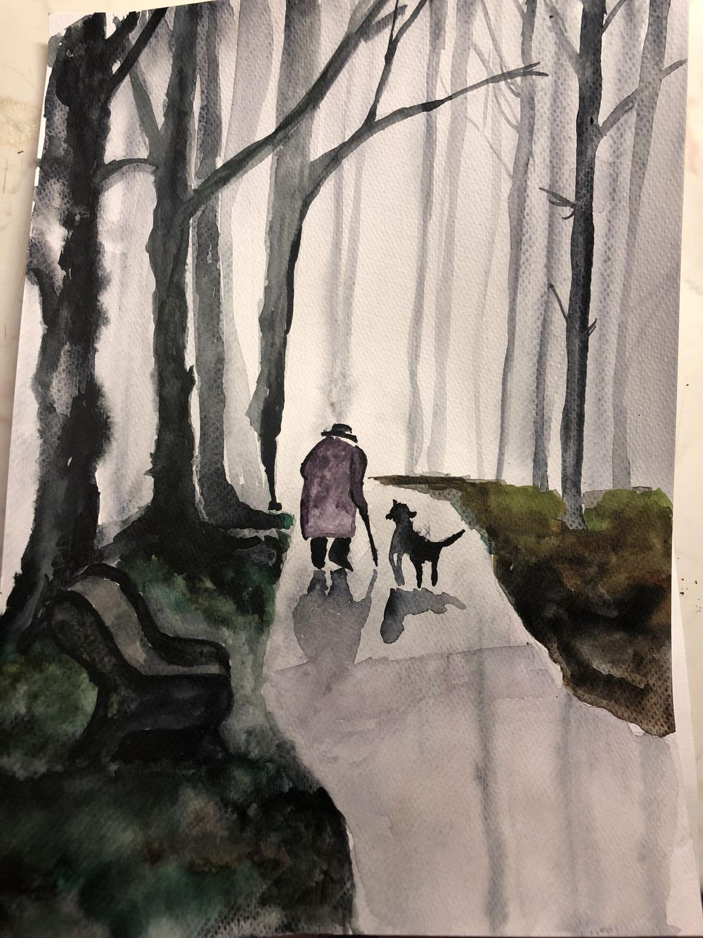 spontaneous watercolor - image 1 - student project