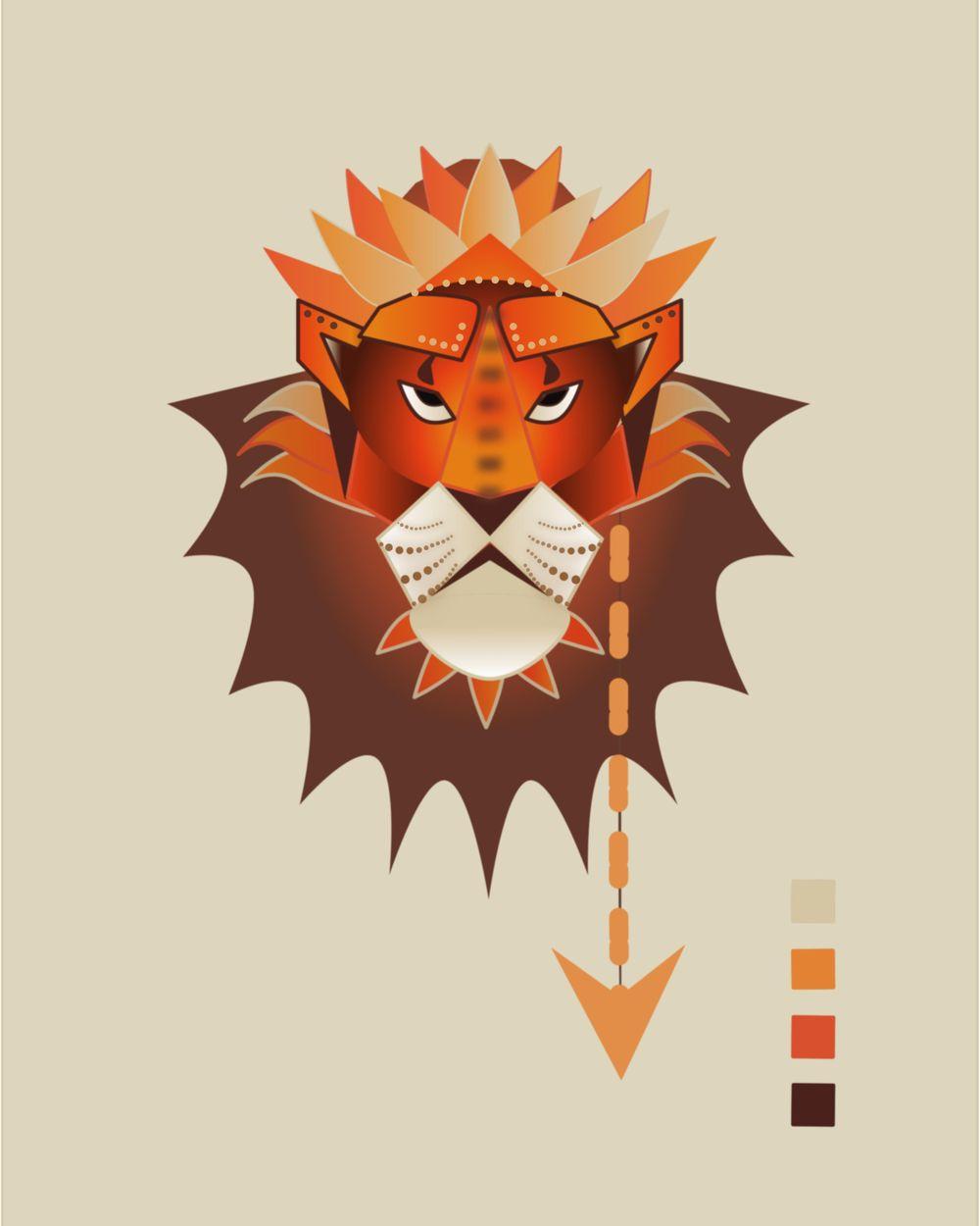 Lion - image 2 - student project