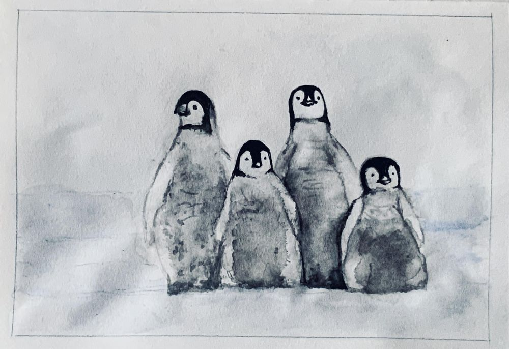 Penguins - image 1 - student project