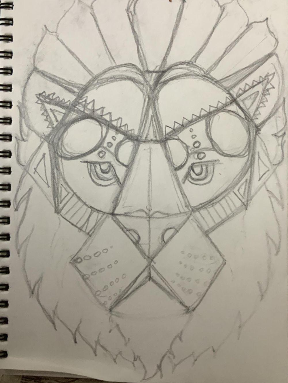 Lion - image 1 - student project