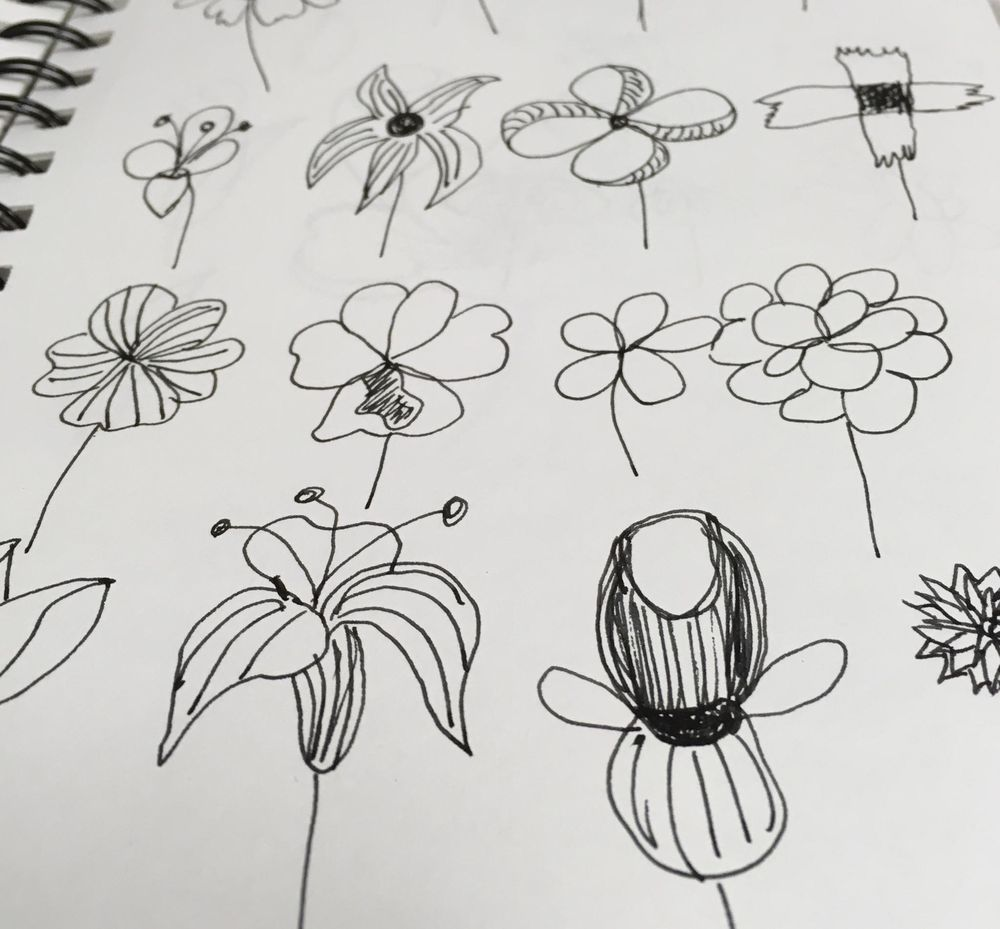 Peggy Dean class, creative style through florals - image 9 - student project
