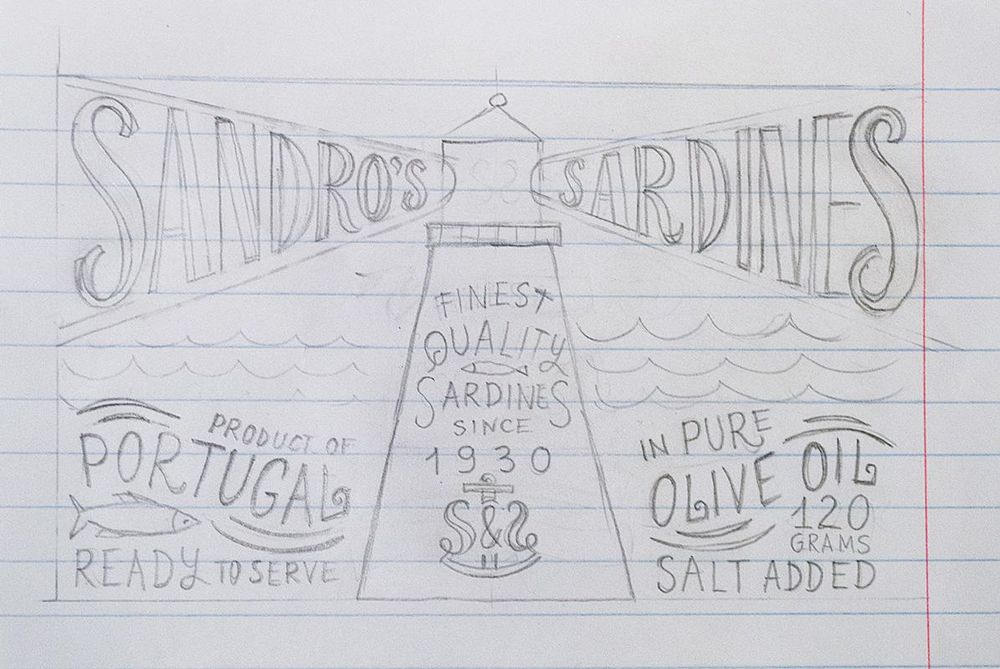 Sardines packaging - image 11 - student project