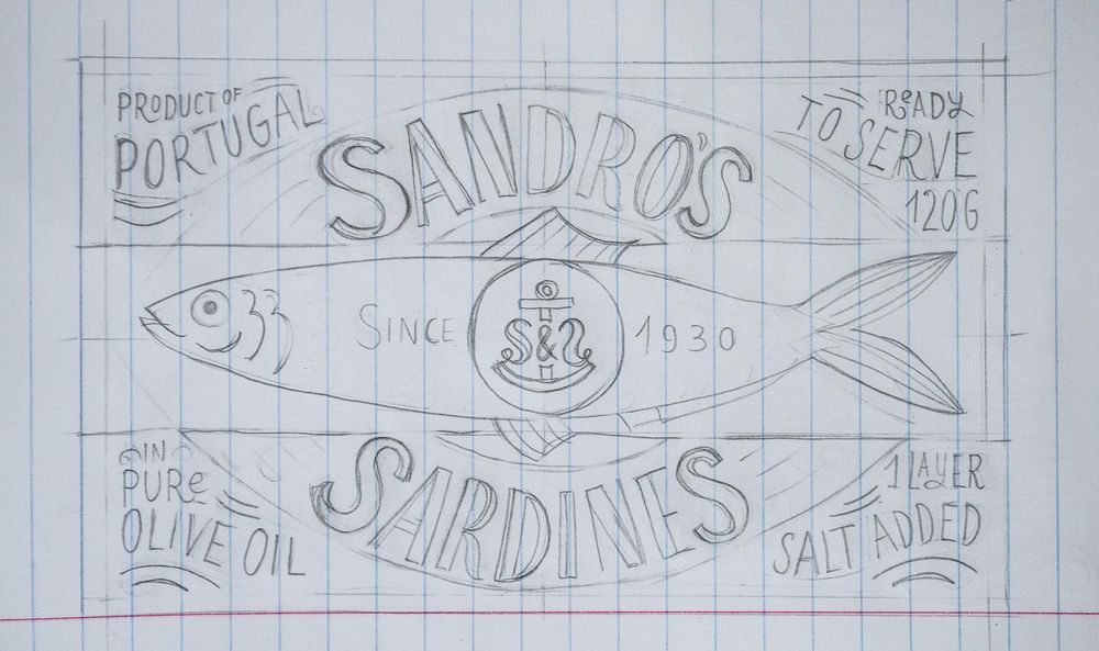 Sardines packaging - image 13 - student project