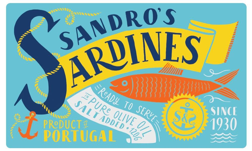 Sardines packaging - image 16 - student project