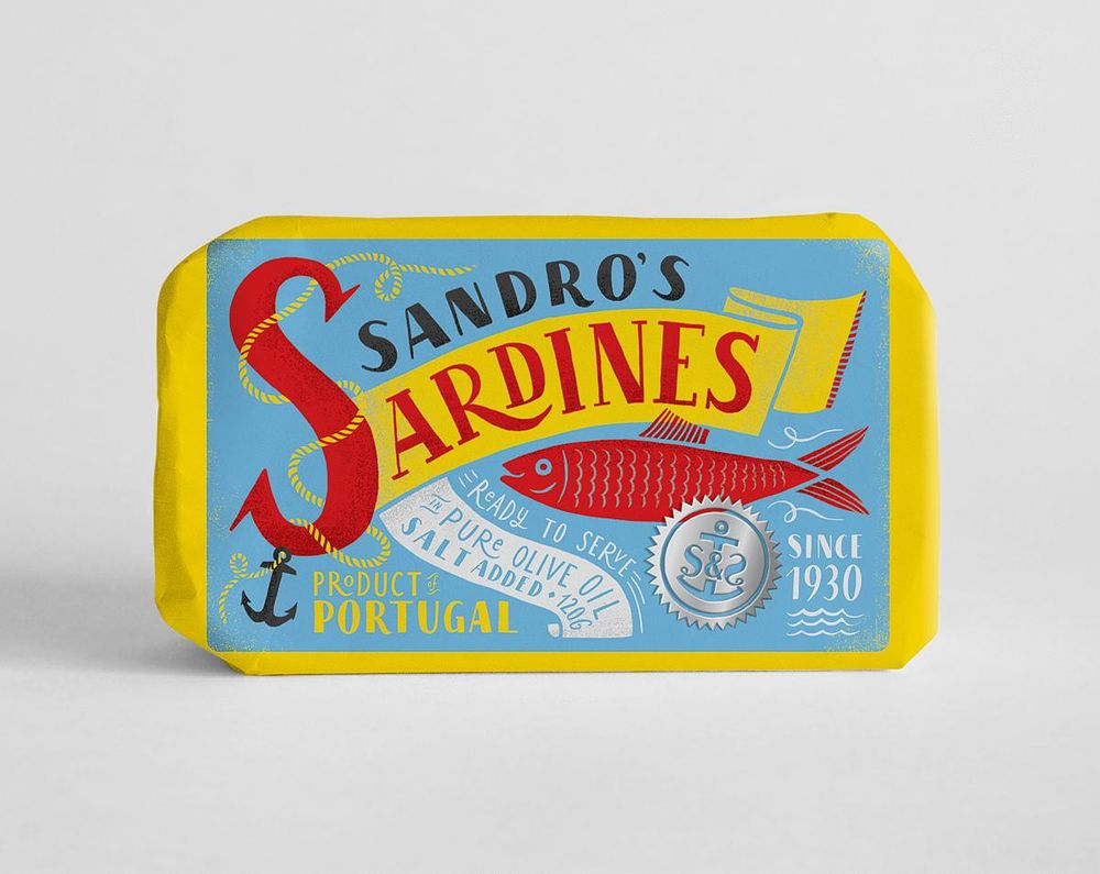 Sardines packaging - image 19 - student project