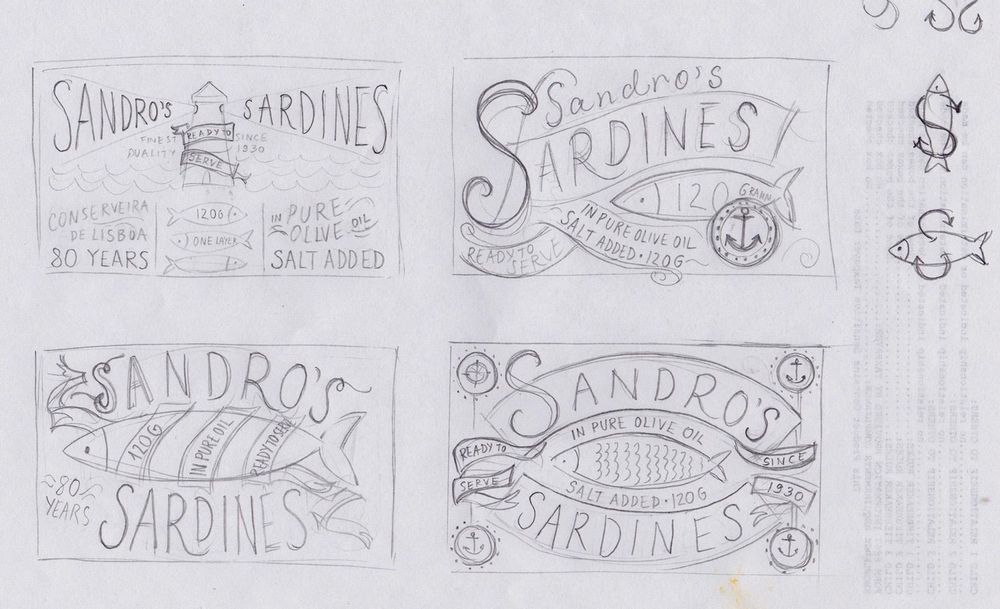 Sardines packaging - image 9 - student project