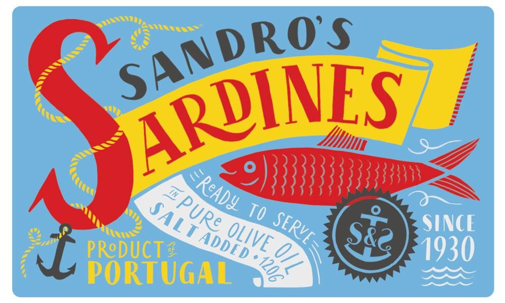 Sardines packaging - image 17 - student project