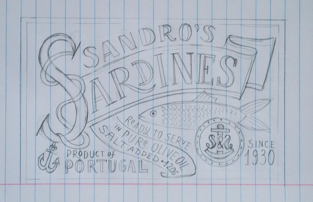 Sardines packaging - image 12 - student project