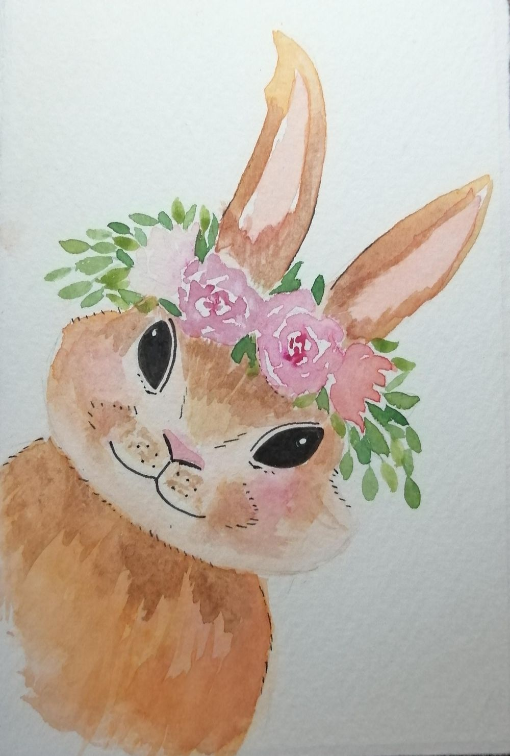 flower bunny - image 1 - student project