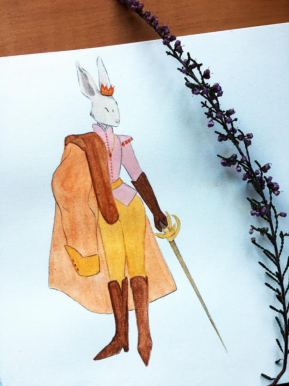 Bunny Prince - image 7 - student project