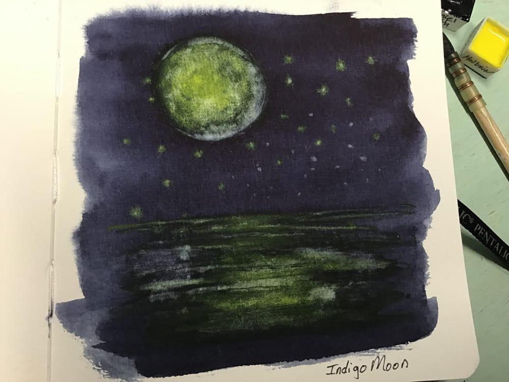 Indigo moon - image 1 - student project