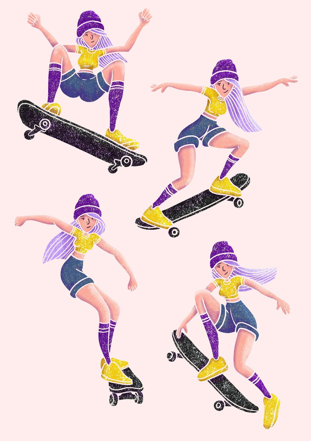 Skater Girl - image 5 - student project