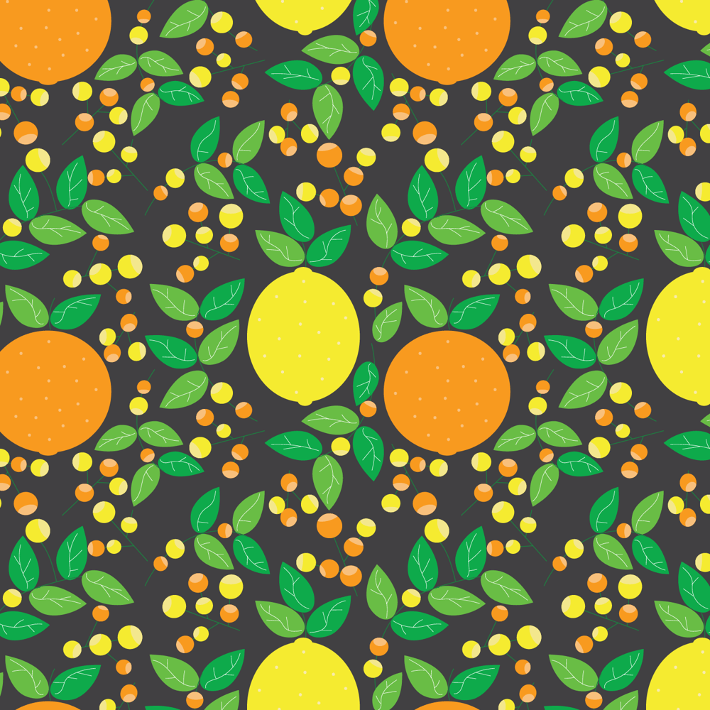 Citrus and Flowers - image 2 - student project