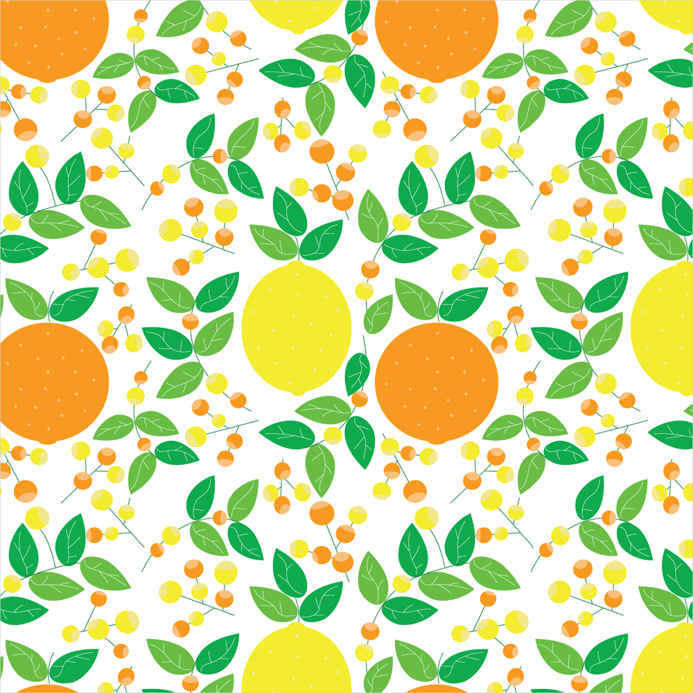 Citrus and Flowers - image 1 - student project