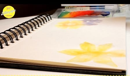 DIY Letter Paper with Gouache Flowers - image 9 - student project