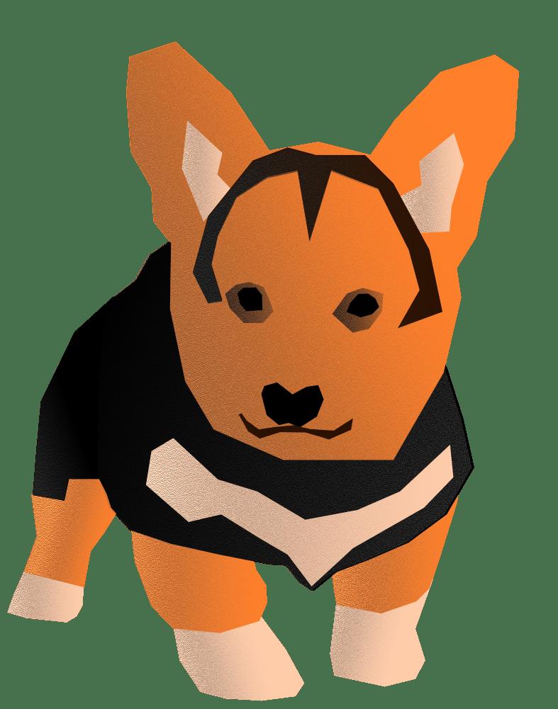 Sturdy corgi puppy - image 1 - student project
