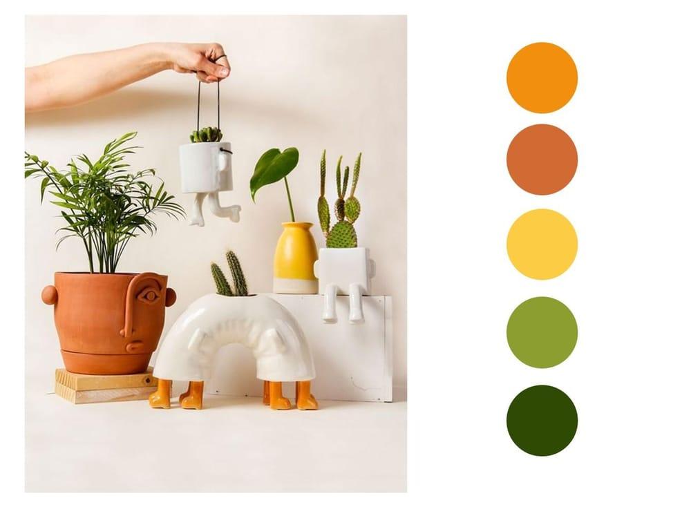 Terra Cotta & Warm Colors - image 1 - student project