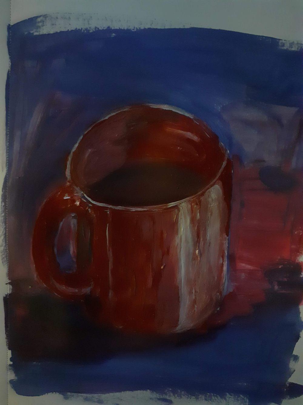 Irish houses / Red Mug - image 1 - student project