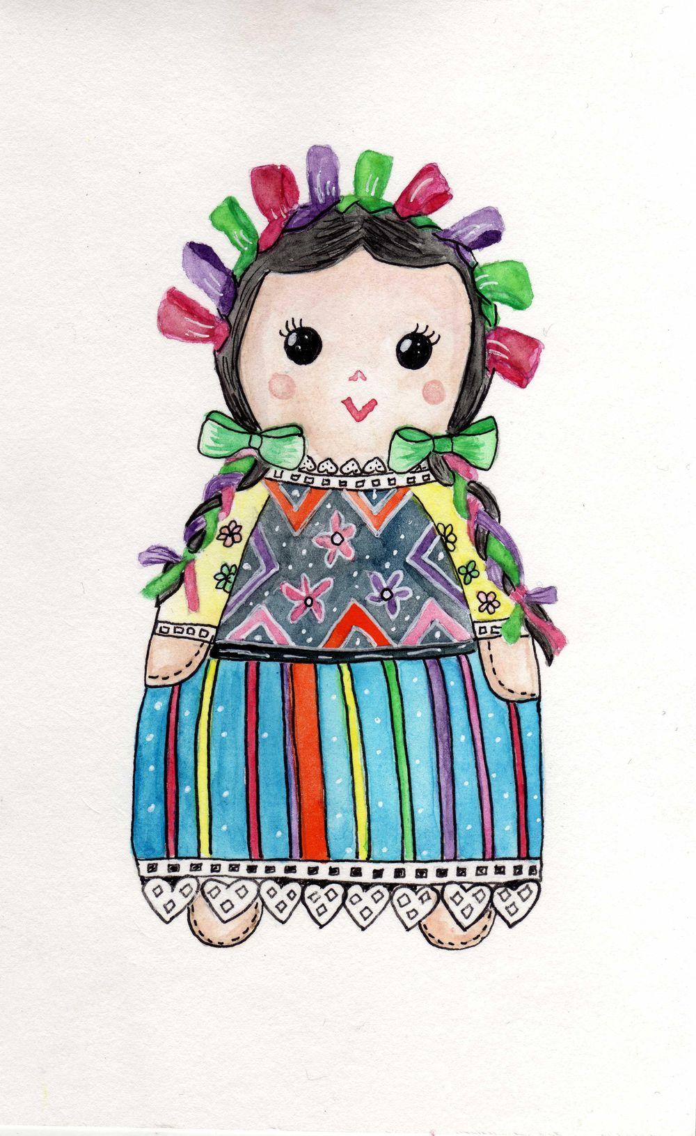 Mazahua doll - image 1 - student project