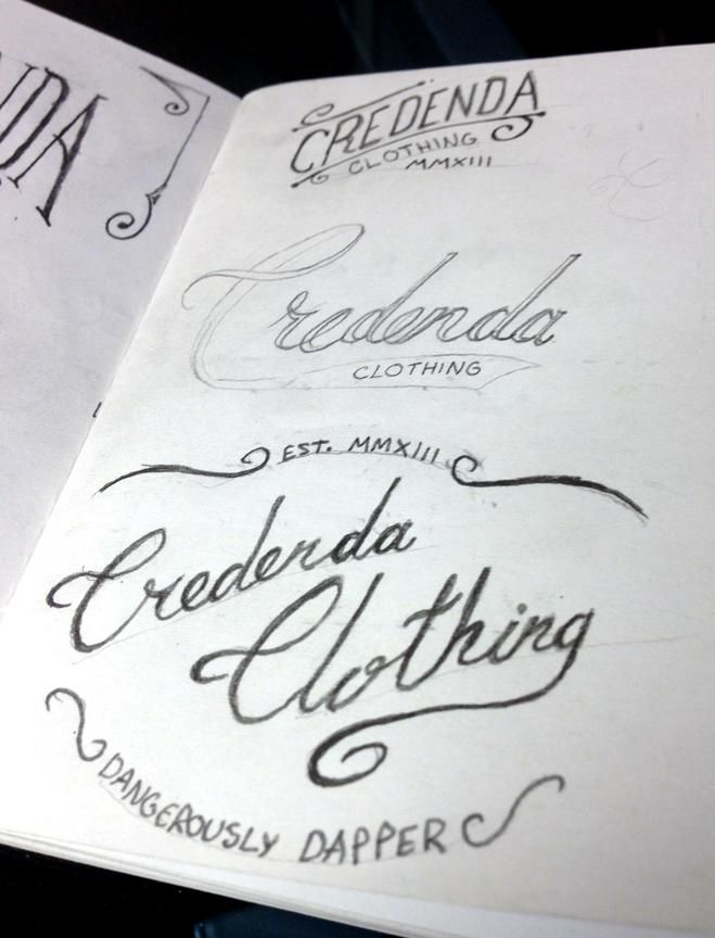 Credenda Clothing by Van Greener - image 41 - student project