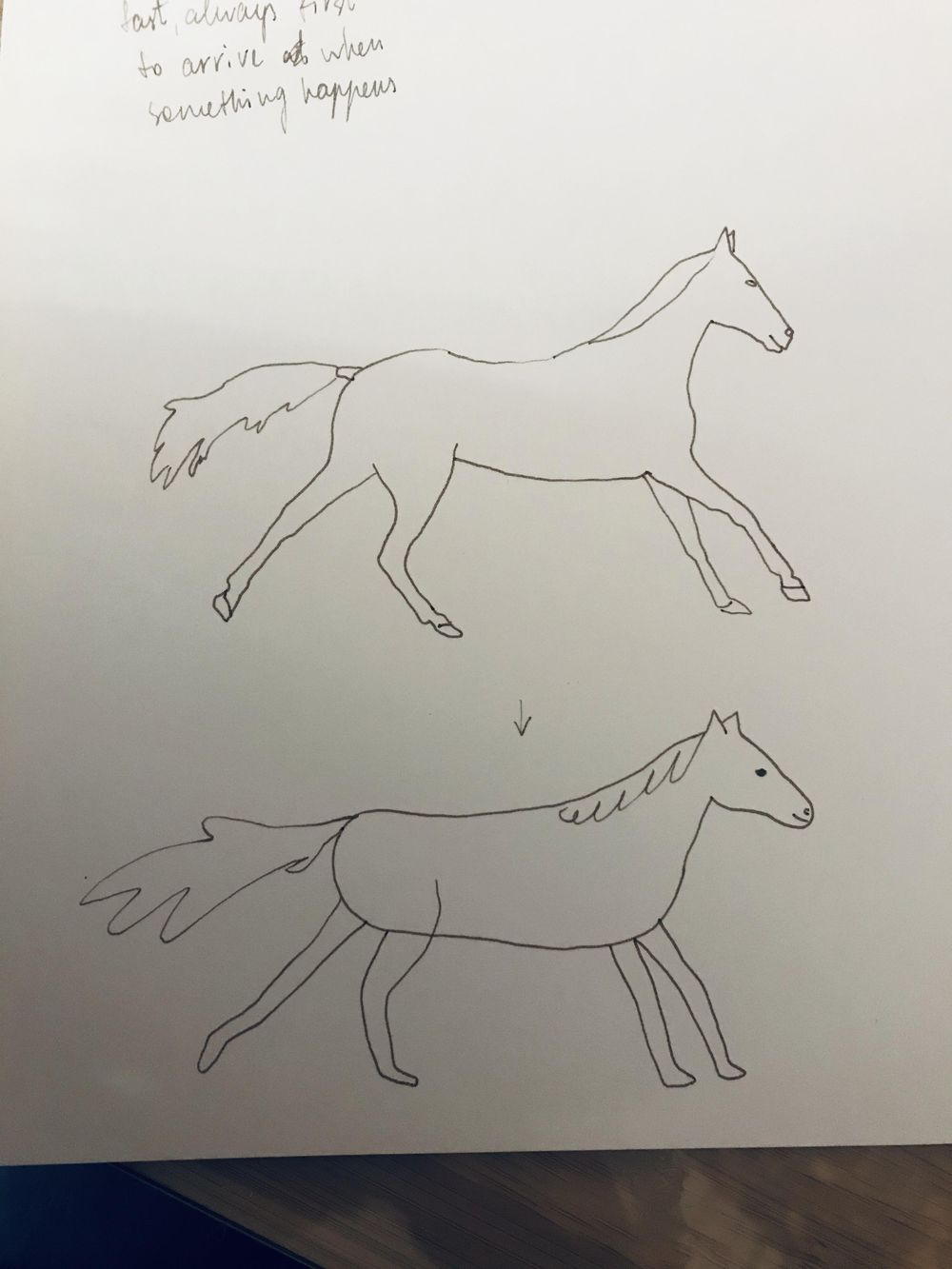 My horse - image 1 - student project