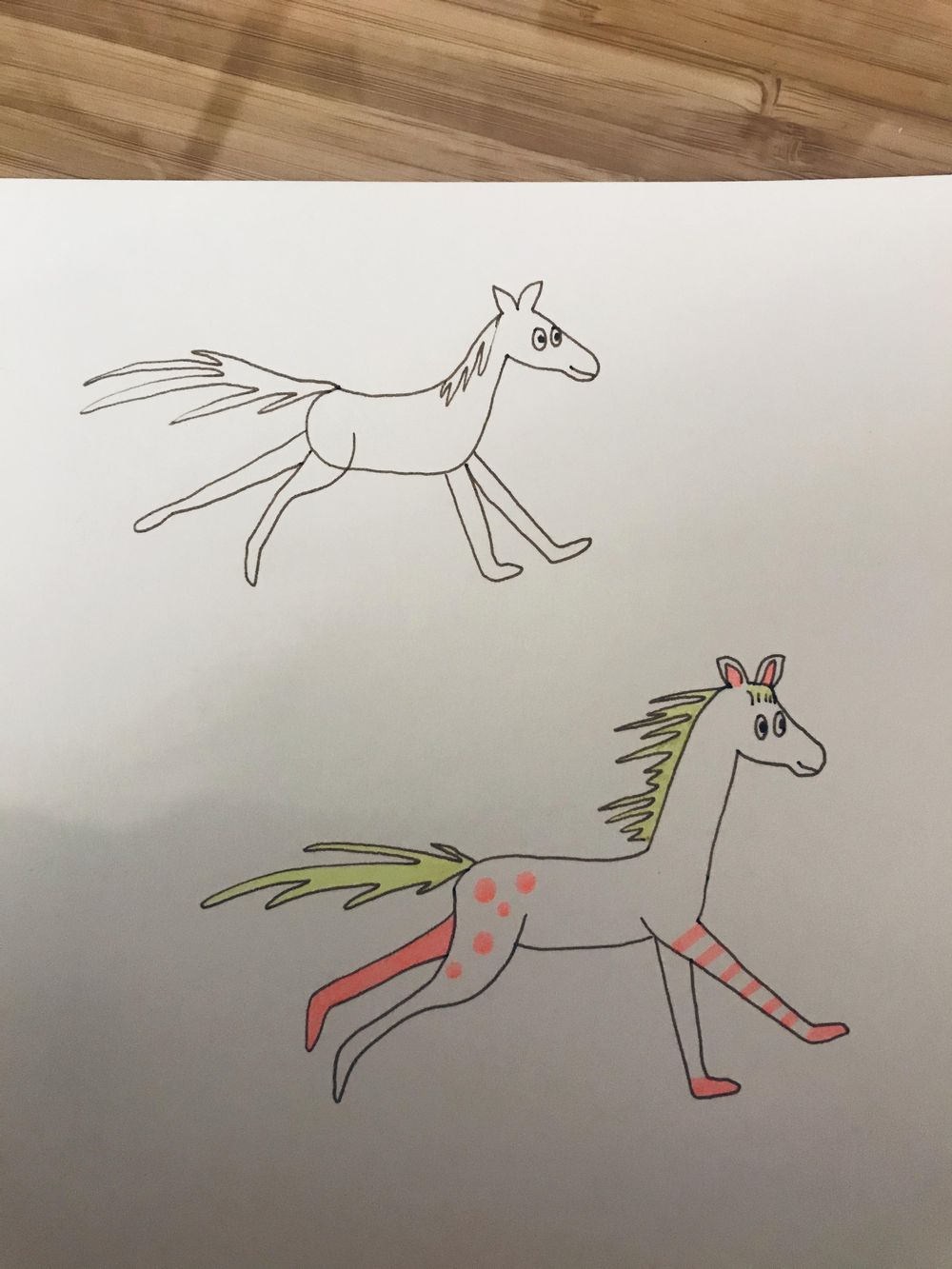 My horse - image 3 - student project
