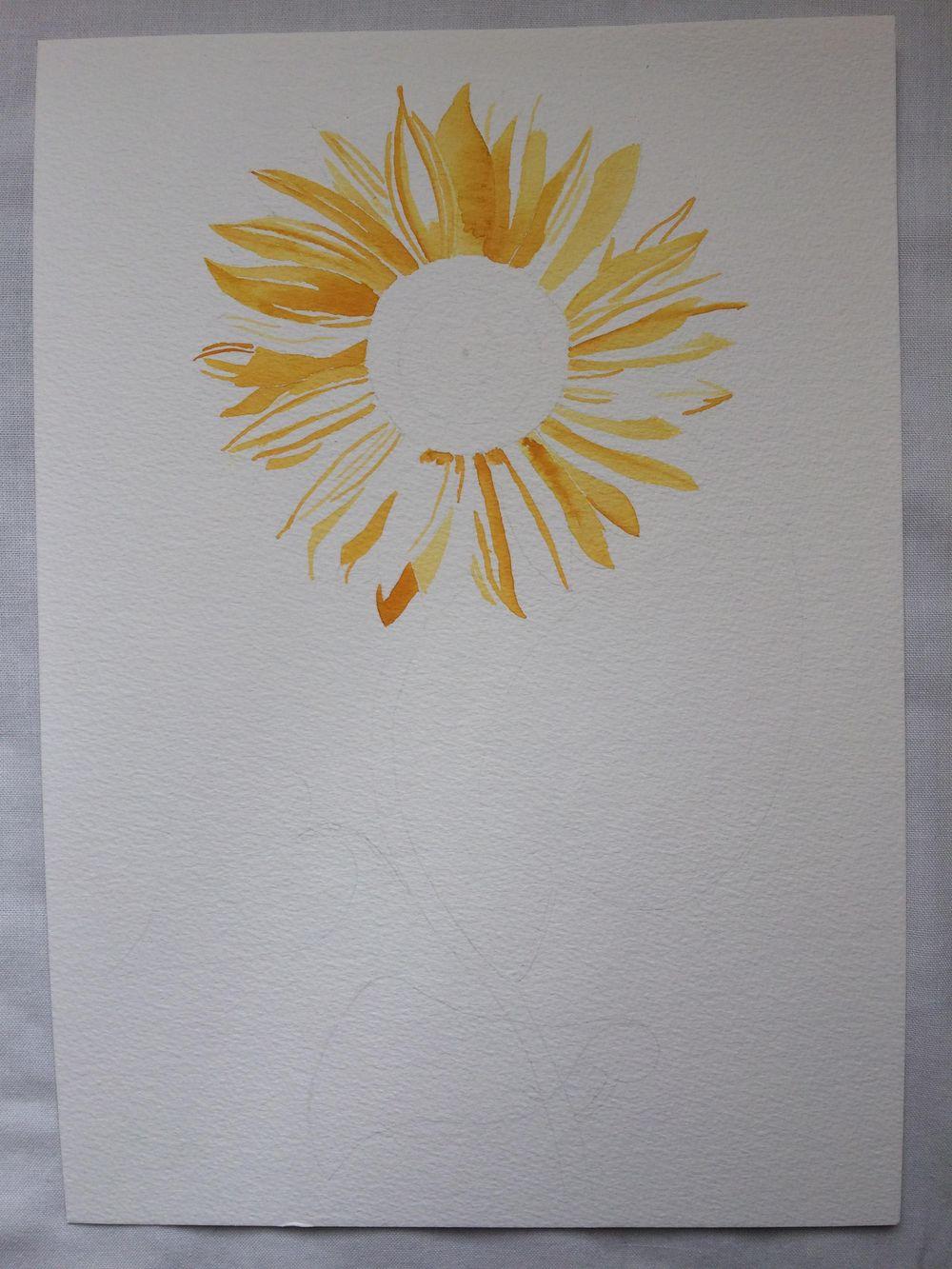 Mixed Midea Vintage-Inspired Botanical Illustration - image 2 - student project