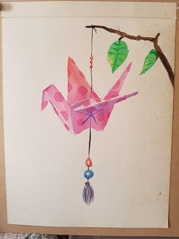 New watercolor class... Loving it! - image 3 - student project