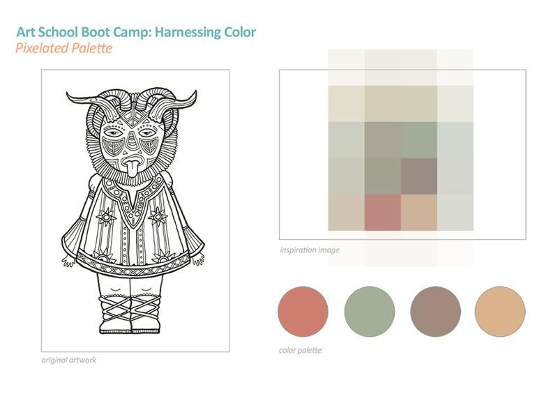 SAMPLE PROJECT: Color Palettes - image 3 - student project