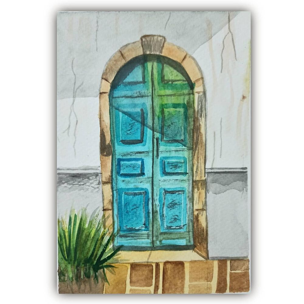 Rustic Door skillshare learning - image 2 - student project