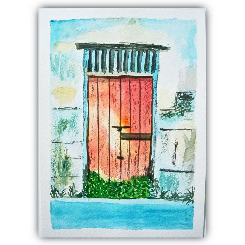 Rustic Door skillshare learning - image 3 - student project