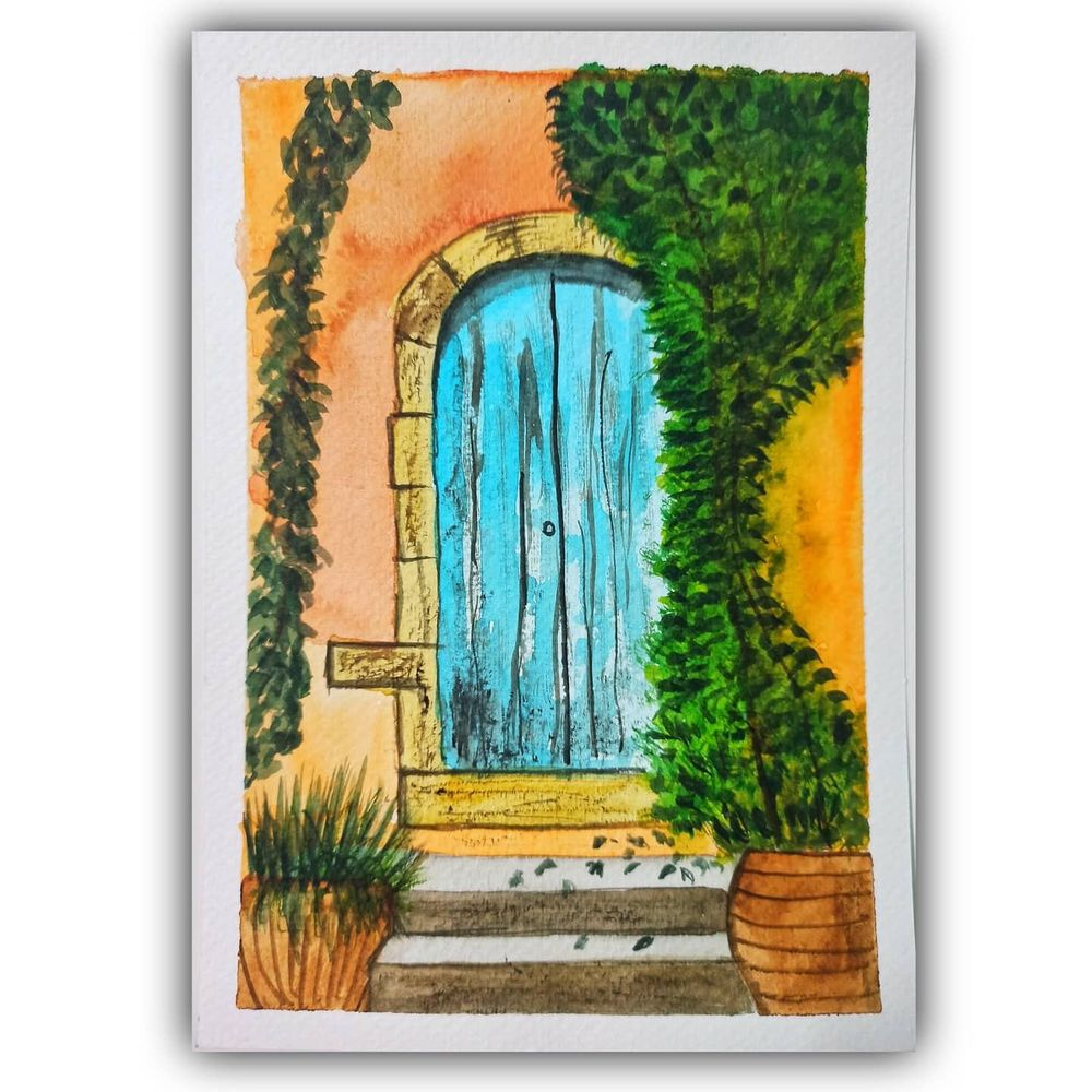 Rustic Door skillshare learning - image 1 - student project