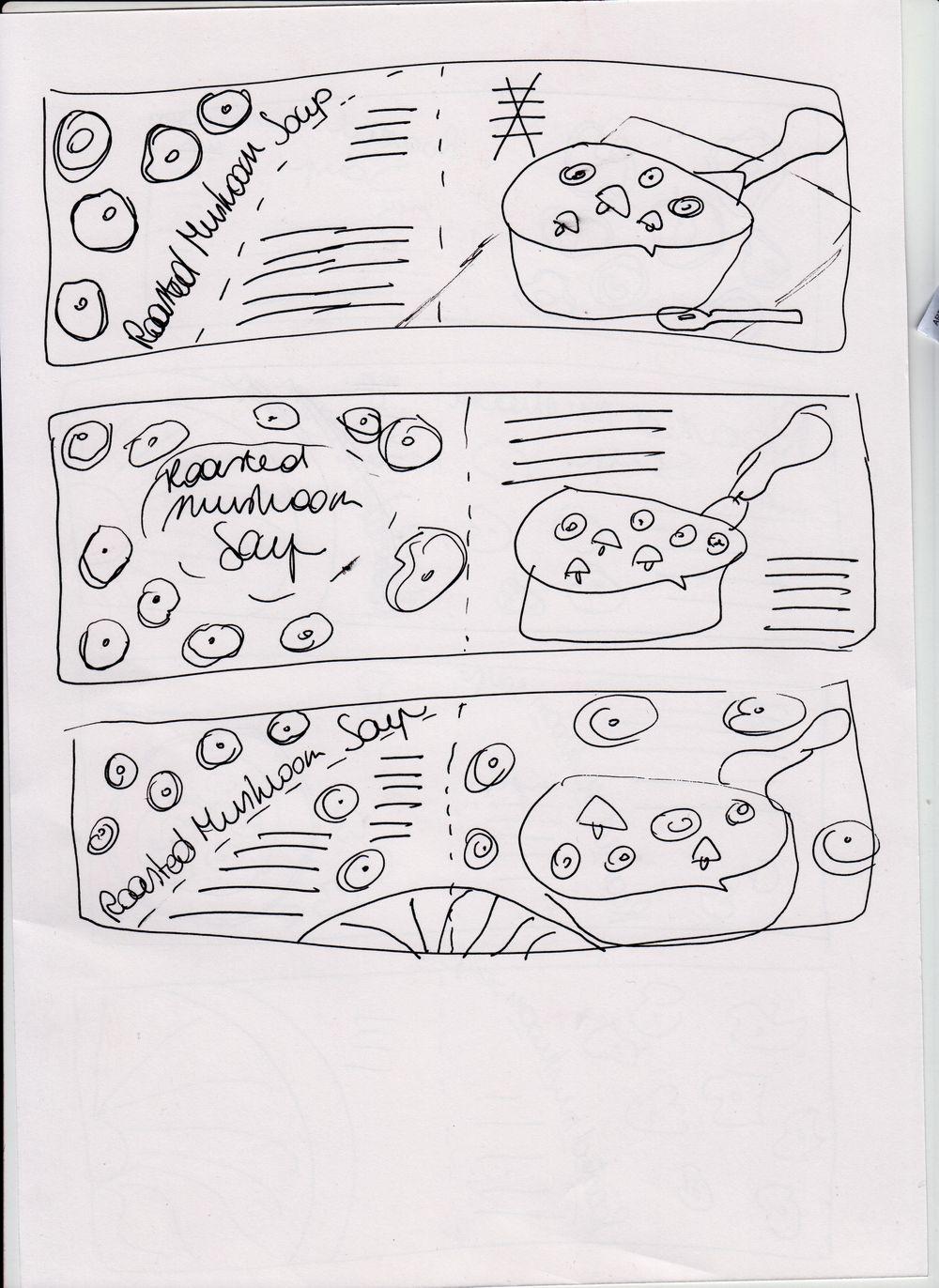 Roasted Mushroom Soup - image 2 - student project