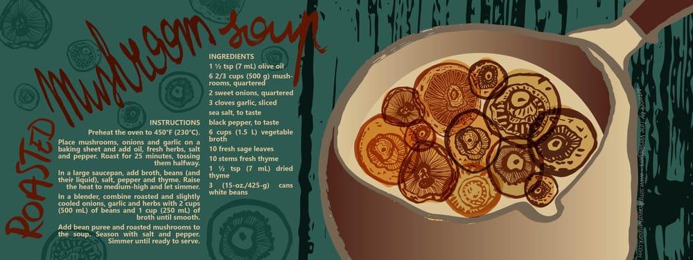 Roasted Mushroom Soup - image 4 - student project