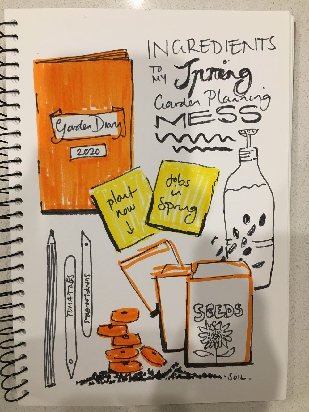 Inktober Journal - image 4 - student project