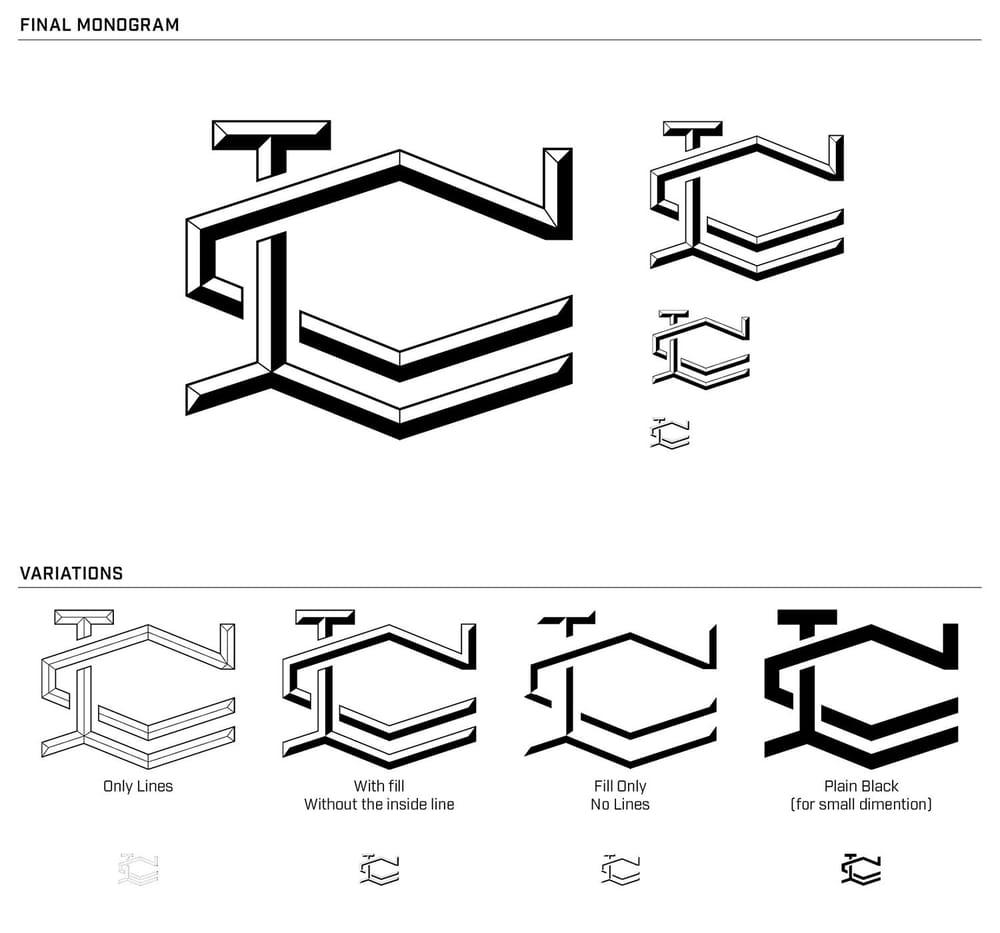 LC Monogram - image 13 - student project