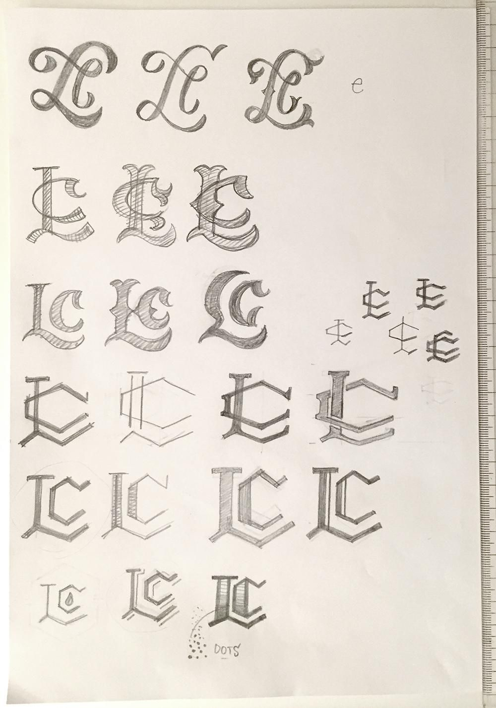LC Monogram - image 7 - student project