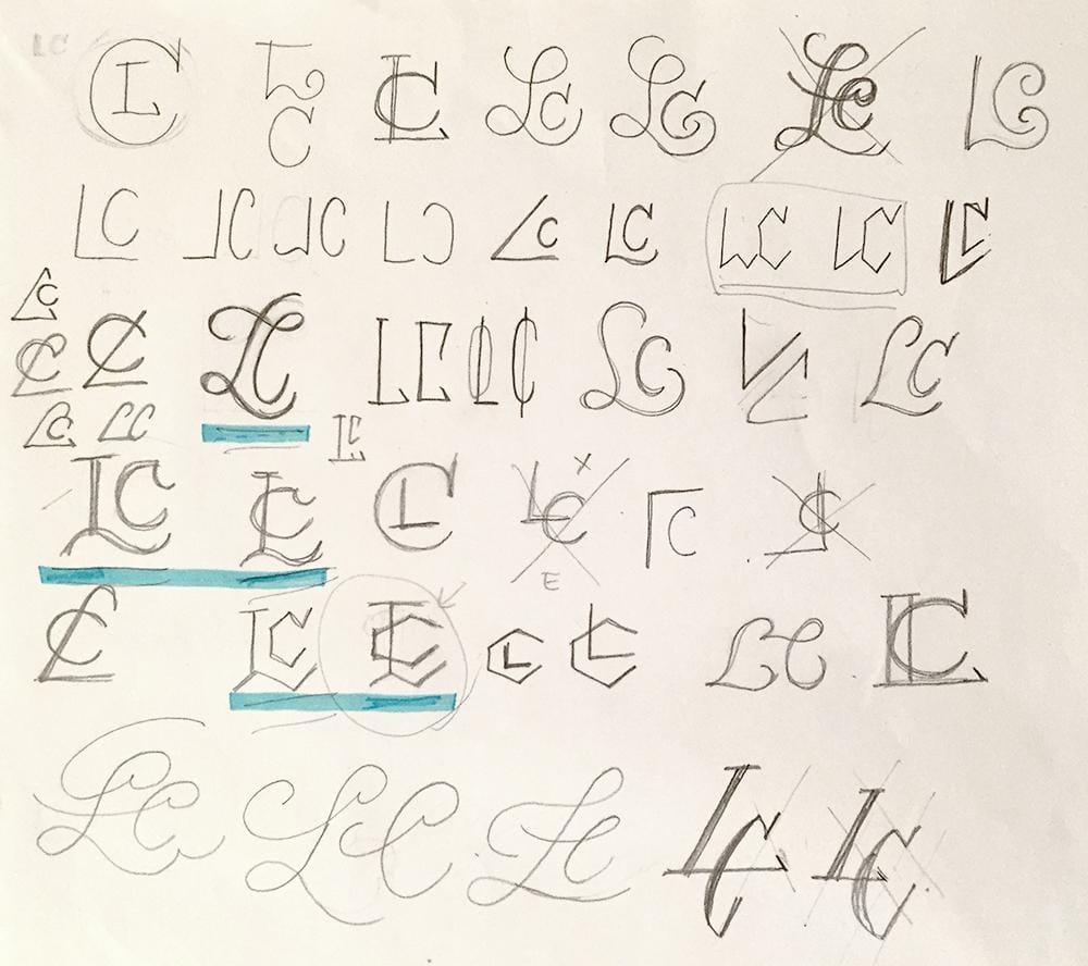LC Monogram - image 6 - student project