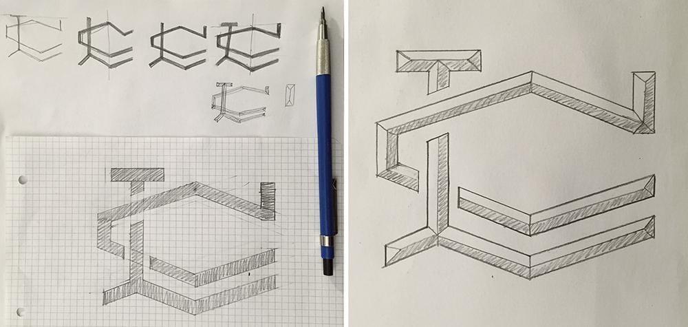 LC Monogram - image 9 - student project