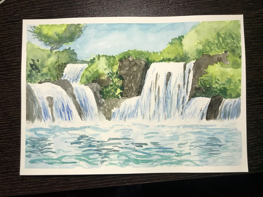 Waterfall - image 2 - student project