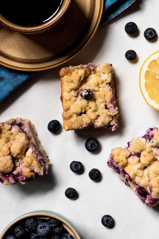 Lemon Blueberry Flatlay - image 1 - student project