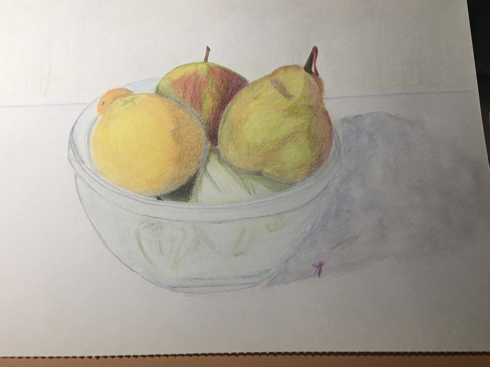 Apple, Pear and Orange - image 1 - student project