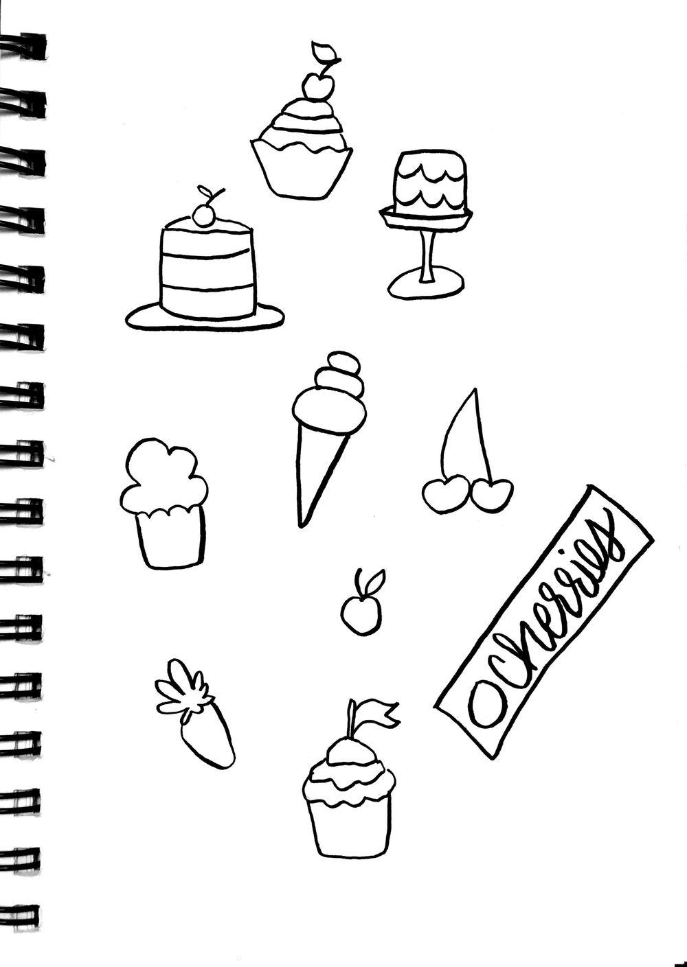 Cupcake Box Cherries - image 1 - student project